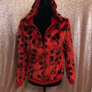 Disney Mickey Mouse youth L fleece hoodie